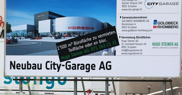 Neubau City-Garage AG, St.Gallen