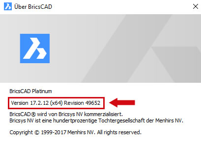 Bricscad neue Version